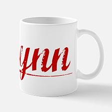 Flynn, Vintage Red Mug