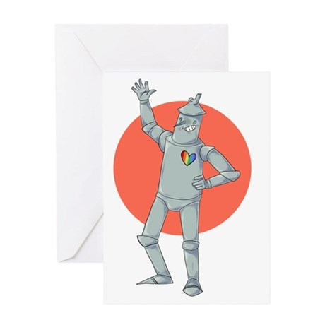 Tin Man Podcast Official Logo Greeting Card
