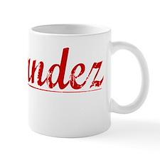 Fernandez, Vintage Red Mug