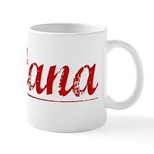 Fontana, Vintage Red Mug
