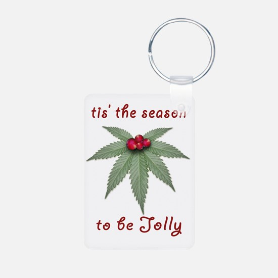 Tis the Season to be Jolly Keychains