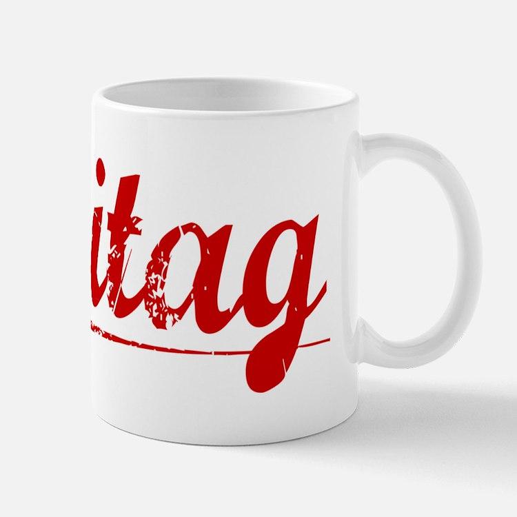 Freitag, Vintage Red Mug