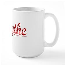 Forsythe, Vintage Red Mug