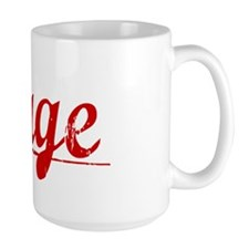 Gage, Vintage Red Mug