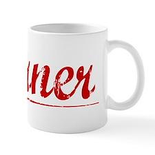 Garner, Vintage Red Mug