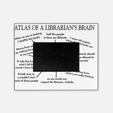 atlas of a librarians brain Picture Frame