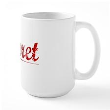 Garret, Vintage Red Mug
