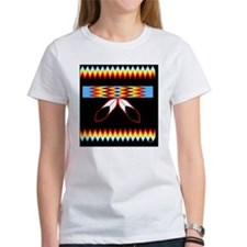 NATIVE AMERICAN BEADED STRIP Tee