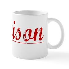 Garrison, Vintage Red Small Mug