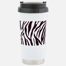 Zebra Stripes Stainless Steel Travel Mug