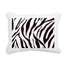 Zebra Stripes Rectangular Canvas Pillow