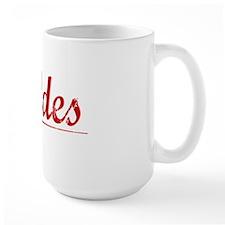 Geddes, Vintage Red Mug