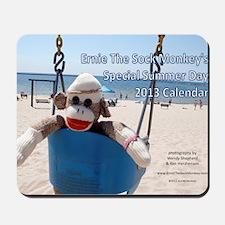 Ernie The Sock Monkeys Special Summer Da Mousepad
