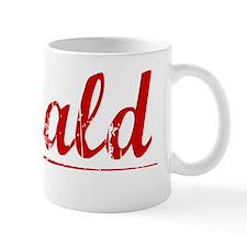 Gerald, Vintage Red Mug