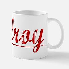 Gilroy, Vintage Red Mug