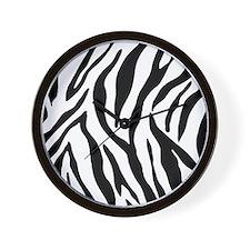 Zebra Stripes Wall Clock