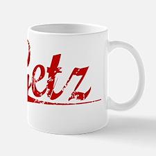 Getz, Vintage Red Mug