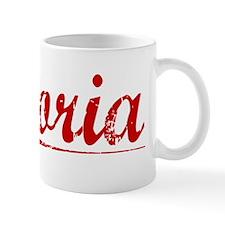 Gloria, Vintage Red Small Mug