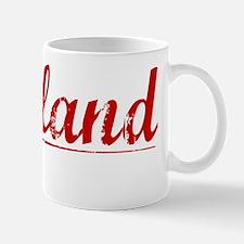 Gilliland, Vintage Red Mug