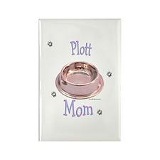 Plott Mom Rectangle Magnet