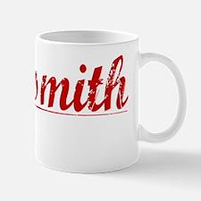 Goldsmith, Vintage Red Mug