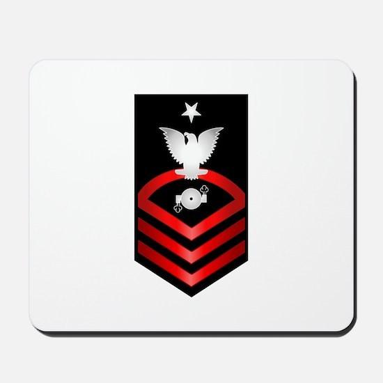 Navy Senior Chief Boiler Technician Mousepad