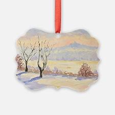 Winter Landscape  Ornament