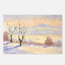 Winter Landscape  Postcards (Package of 8)