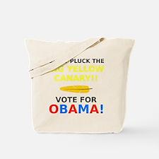 Big Yellow Canary Tote Bag