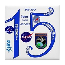 ISS @ 15! Tile Coaster
