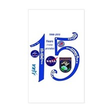 ISS @ 15! Decal