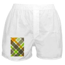 Retro Argyle Boxer Shorts