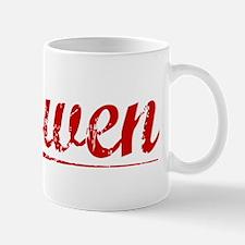 Gowen, Vintage Red Mug