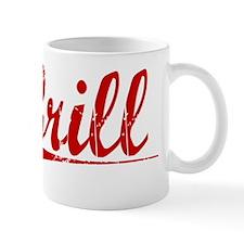 Grill, Vintage Red Mug