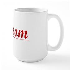 Grissom, Vintage Red Mug
