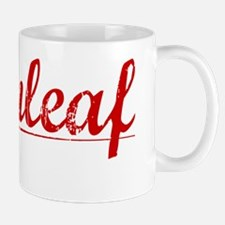 Greenleaf, Vintage Red Mug