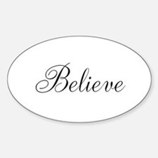 Believe Inspirational Word Decal
