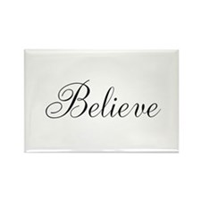 Believe Inspirational Word Magnets