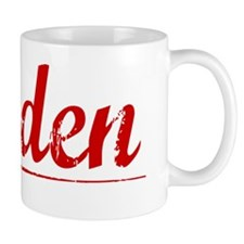 Haden, Vintage Red Mug