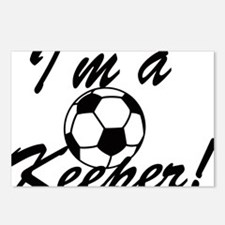 Im a Keeper Blk Postcards (Package of 8)