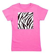 Zebra Stripes Girl's Tee