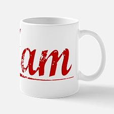 Ham, Vintage Red Mug