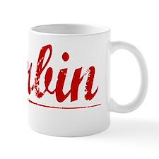 Harbin, Vintage Red Mug