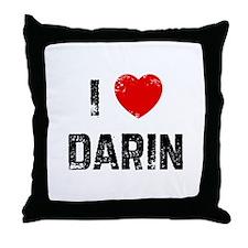 I * Darin Throw Pillow