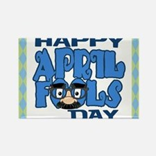 Happy April Fools Day Rectangle Magnet