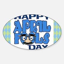 Happy April Fools Day Decal