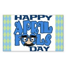 Happy April Fools Day Decal