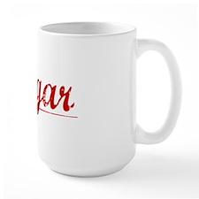 Hagar, Vintage Red Mug