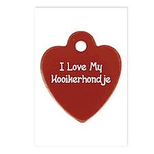 Love My Kooiker Postcards (Package of 8)
