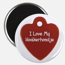Love My Kooiker Magnet